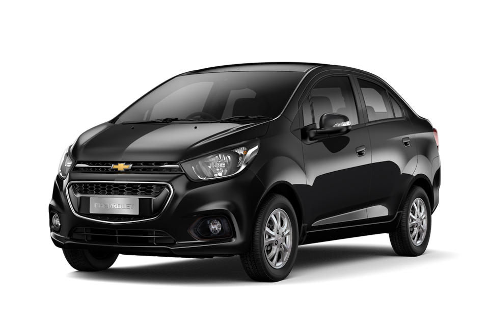 Chevrolet Beat - Exterior negro de tu carro sedan