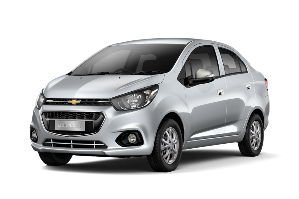 Chevrolet Beat - Exterior plata de tu carro sedan