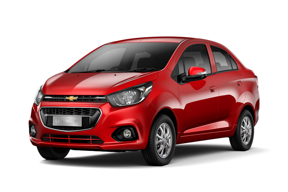 Chevrolet Beat - Exterior rojo de tu carro sedan