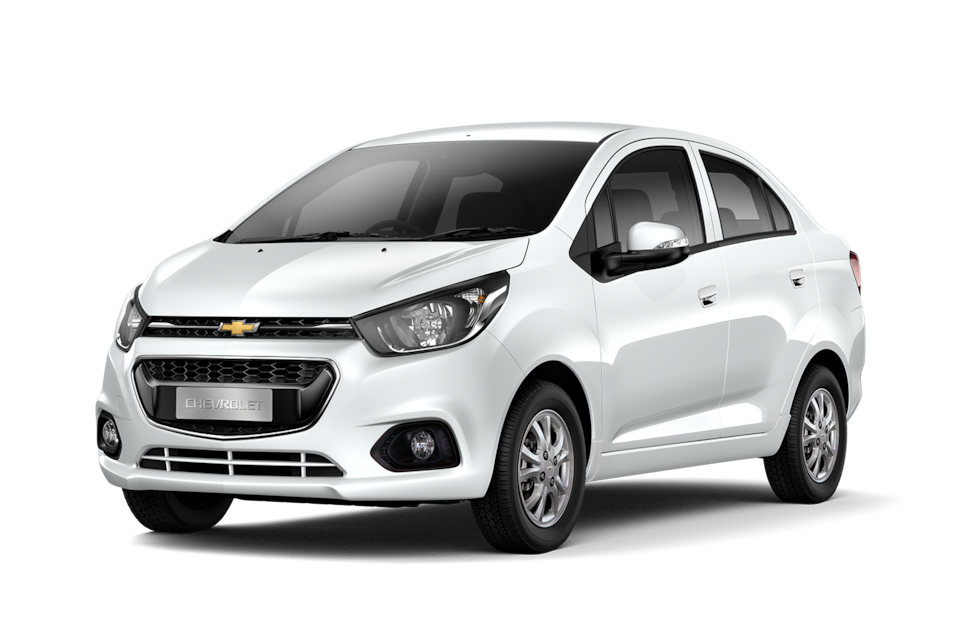 Chevrolet Beat - Exterior blanco de tu carro sedan