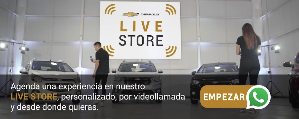 Chevrolet Colombia - Live Store