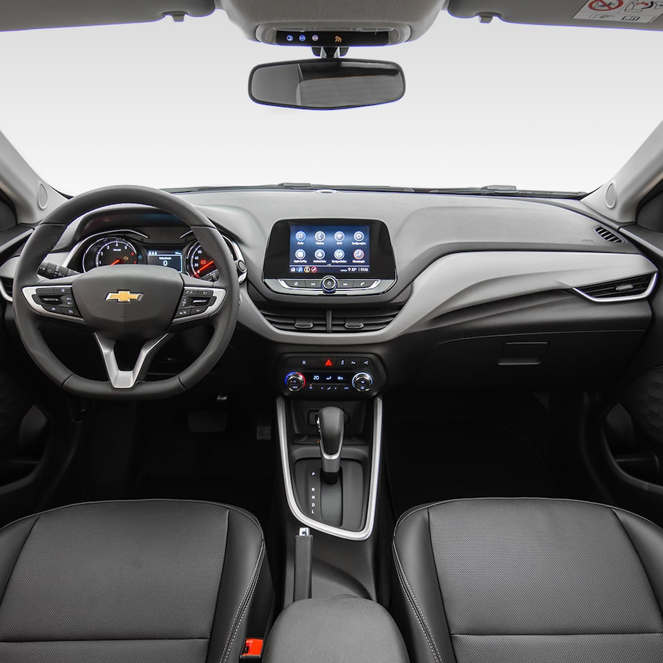 Chevrolet Onix Sedán - Interior de tu auto familiar