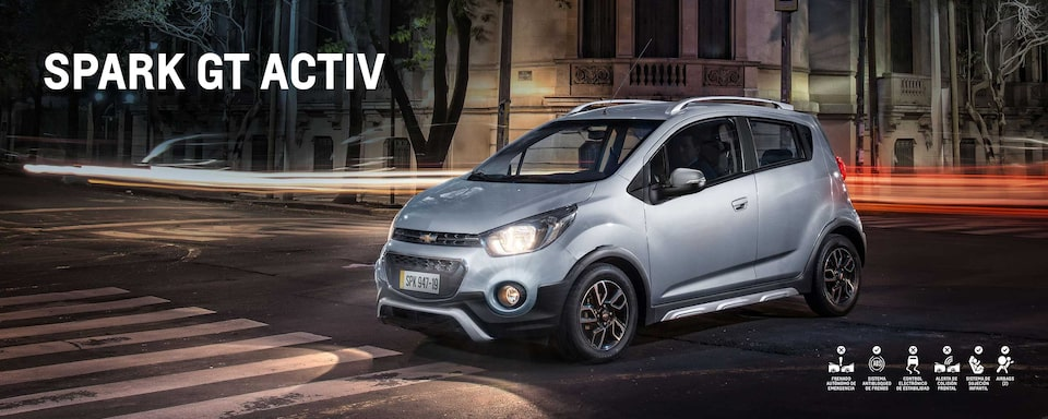 Chevrolet Colombia - Spark GT Activ
