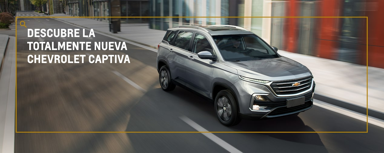 Chevrolet Captiva - Camioneta familiar