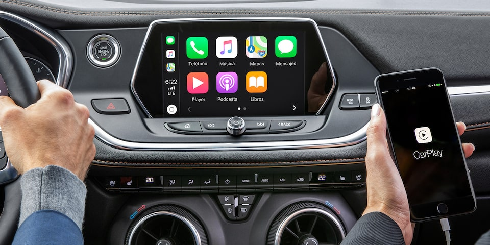 Chevrolet Blazer - Tu camioneta es compatible con tecnología Apple Carplay