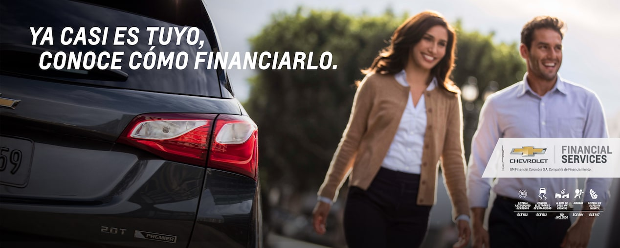 Chevrolet - Conoce como Financiarlo