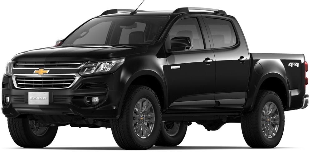 Chevrolet Colorado - Color Negro de tu Camioneta 4x4