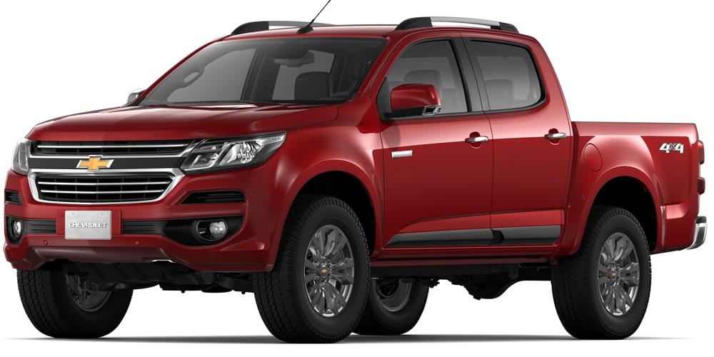 Chevrolet Colorado - Color Rojo de tu Camioneta 4x4