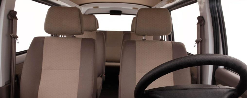Chevrolet N300 Pasajeros - Asientos de tu van de pasajeros