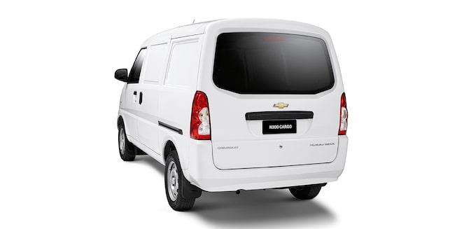 Chevrolet N300 - Angulo trasero de tu van de carga