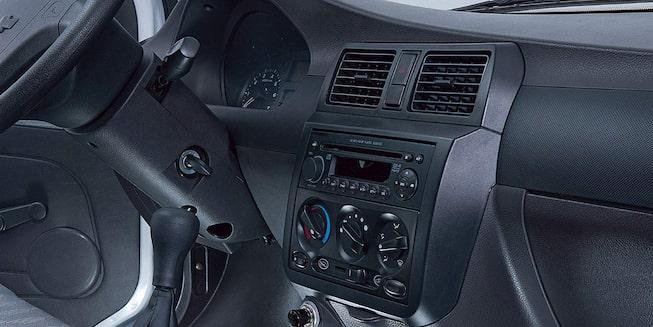 Chevrolet N300 - Tablero en el interior de tu van de carga
