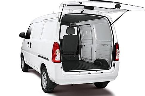 Chevrolet N300 - Capacidad de tu van de carga