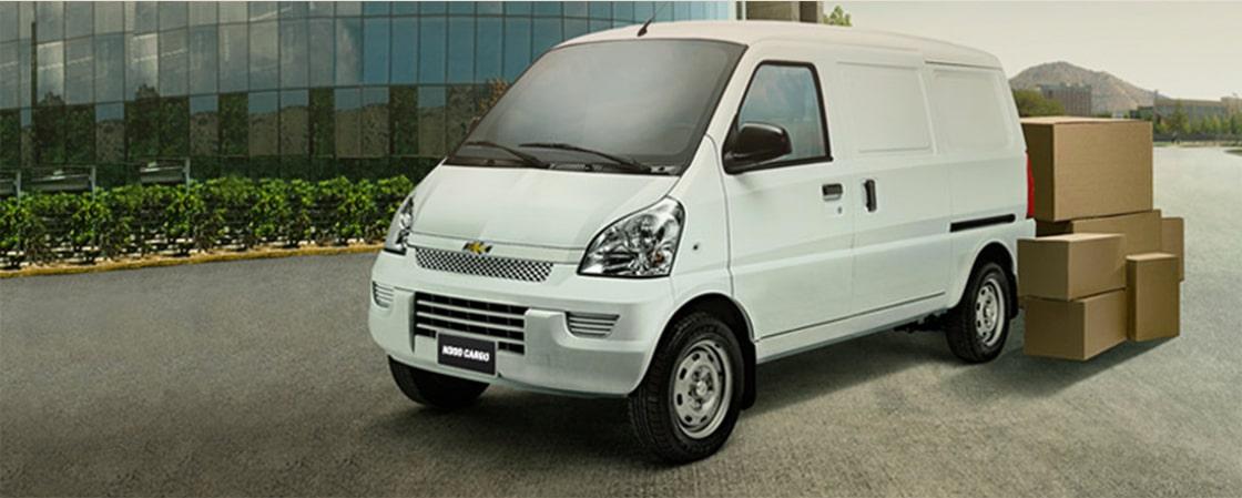 Chevrolet N300 - Van de carga